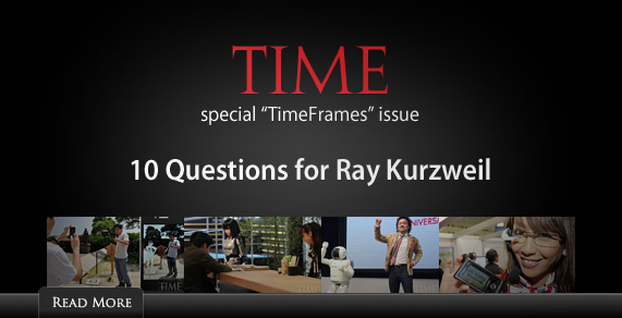 Time - 10 Questions for Ray Kurzweil