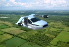 Artist's impression of TF-X future flying car in flight (credit: Terrafugia Inc.)