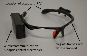 Prototype vibrotactile actuators (credit: Joseph Szczerba et al./Proceedings of the Human Factors and Ergonomics Society)