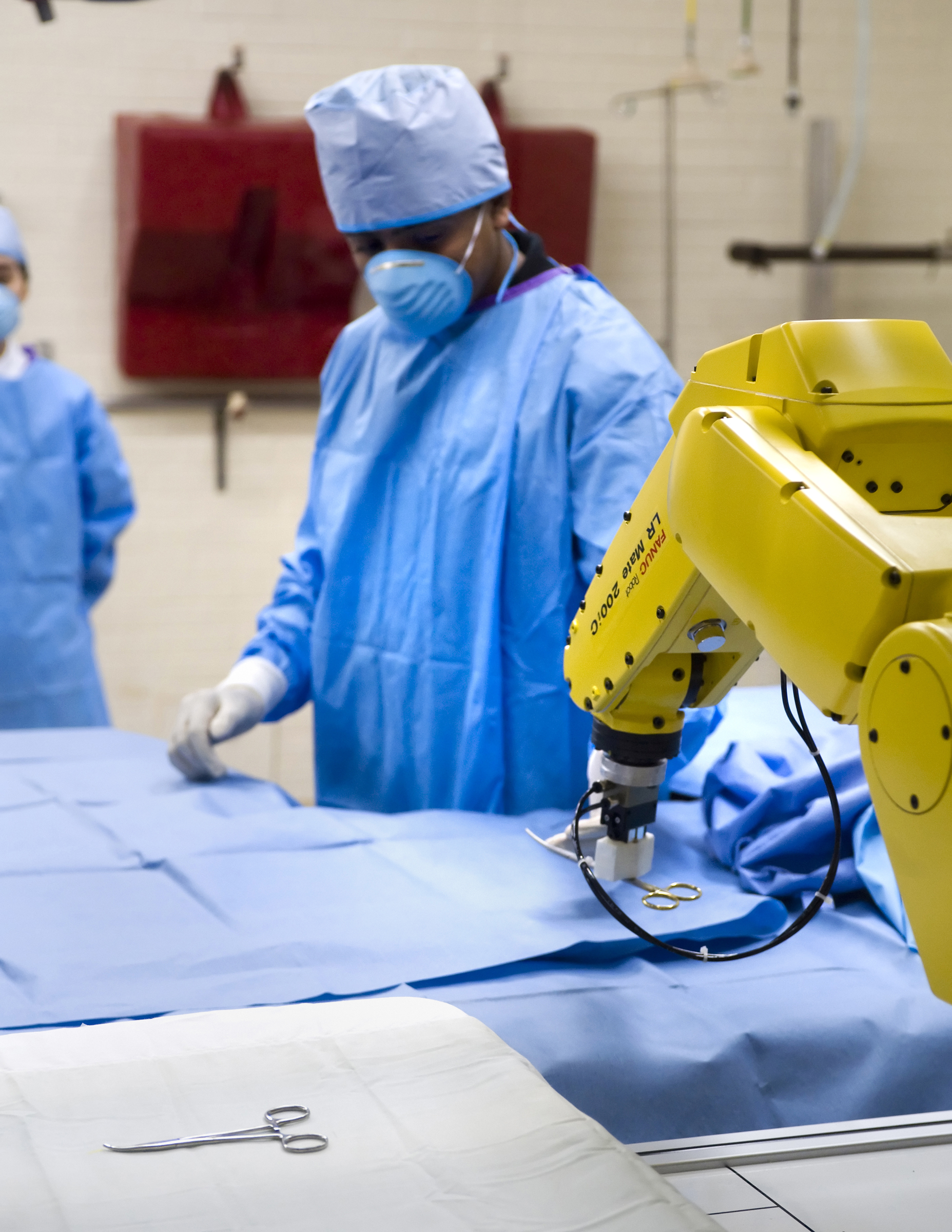 Future surgeons may use robotic nurse, 'gesture recognition